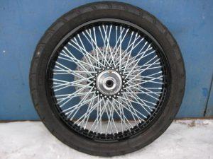Реставрация колеса + 40 спиц