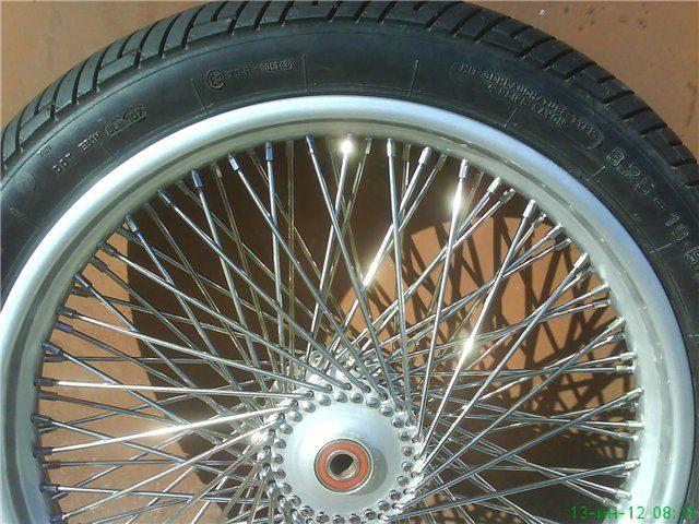 Переднее колесо R-19/3.25, 100 спиц