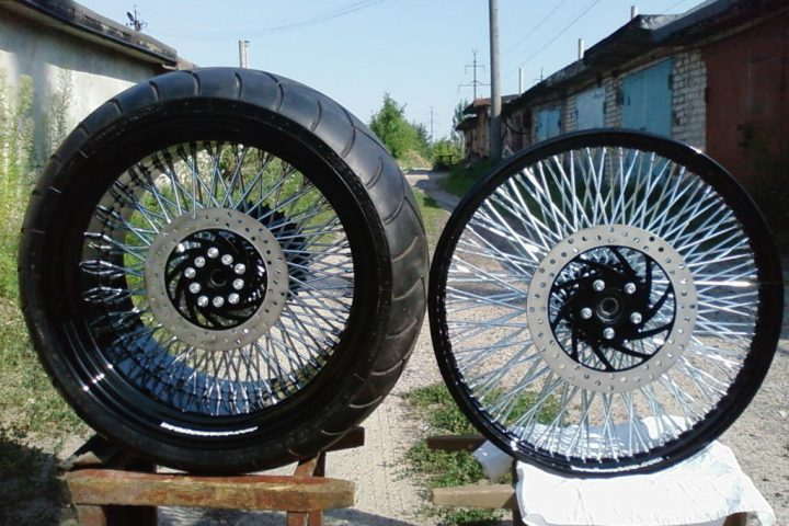 Комплект колес R-18-280, R-21-90 по 120 спиц