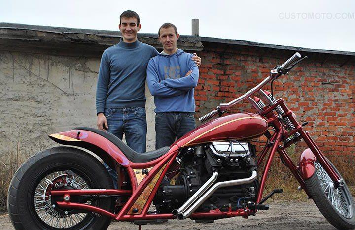 Fortis — мотоцикл с автомобильный двигатель ЗАЗ-968