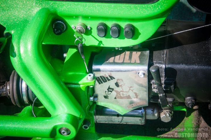 Hulk — кастом на базе автомобильного двигателя ЗАЗ-968