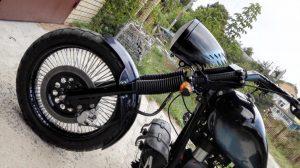 Восстановление передней части мотоцикла Снежная Королева