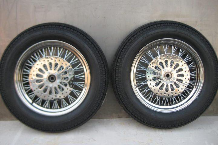 Комплект колес из нержавеющей стали